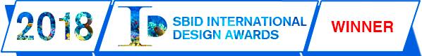 SBID International Design Awards 2018 - Winner